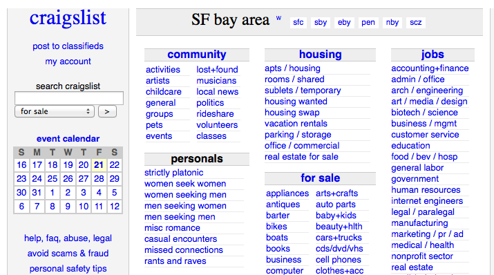 Craigslist Missed Connections East Bay