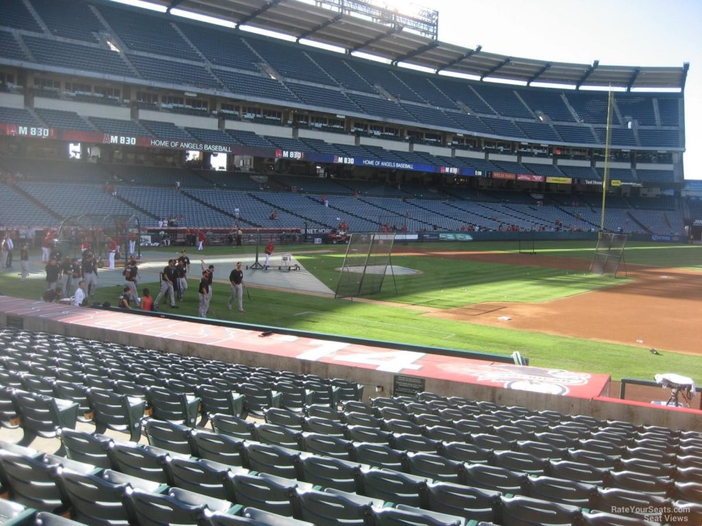 Los Angeles Stadium Section 126 View