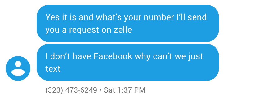 Zelle Scam Talk 3
